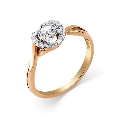 Золотое кольцо Бриллиант и Жемчуг арт. 1-104-742 1-104-742