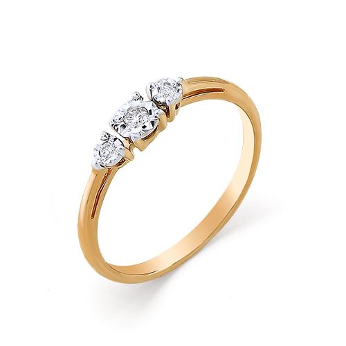 Золотое кольцо Бриллиант арт. 1-104-877 1-104-877