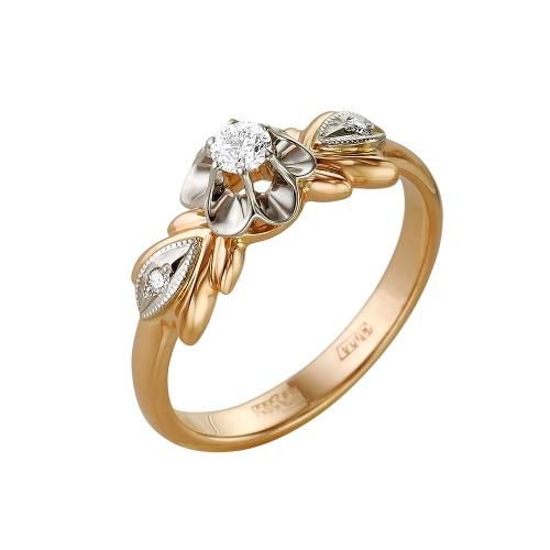 Золотое кольцо Бриллиант арт. 1-104-369 1-104-369