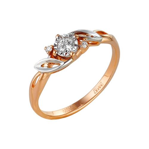 Золотое кольцо Бриллиант арт. 1-104-940 1-104-940