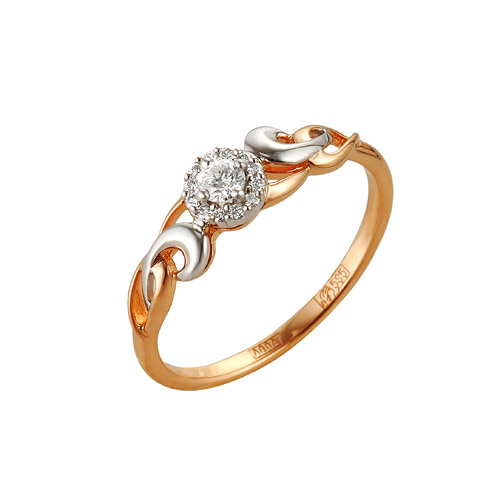 Золотое кольцо Бриллиант арт. 1-104-948 1-104-948