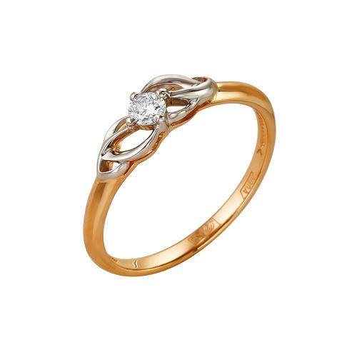 Золотое кольцо Бриллиант арт. 1-104-955 1-104-955