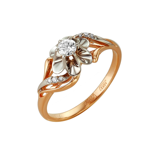 Золотое кольцо Бриллиант арт. 1-104-970 1-104-970