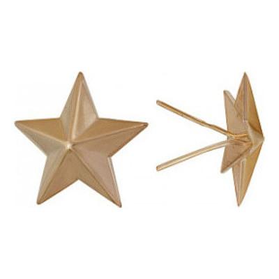 Звезда на погоны из золота арт. 1400029006 1400029006