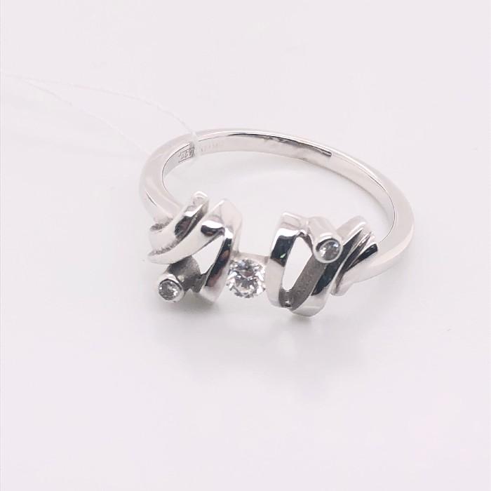Кольцо из белого золота Бриллиант арт. 8162794 8162794