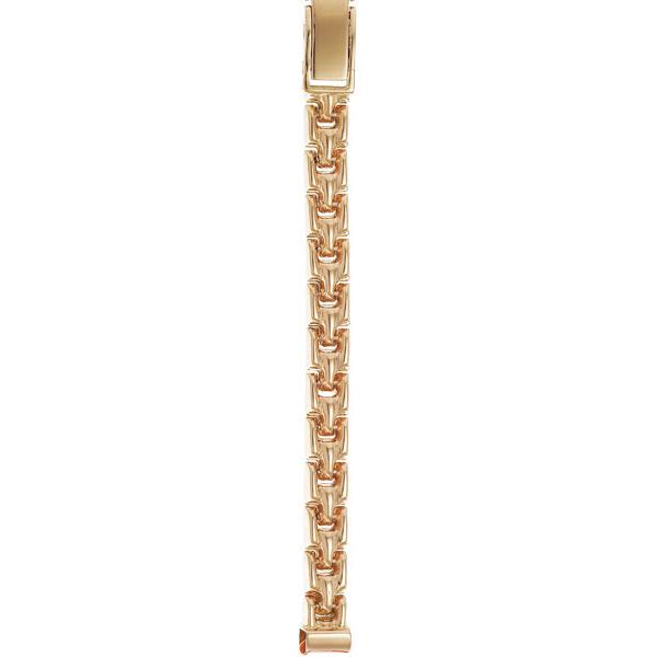 Женский браслет для часов из золота размер присоединительного ушка 6 арт. 50063 50063