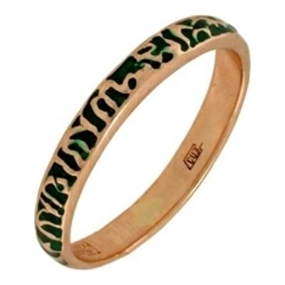 Обручальное кольцо из золота с эмалью арт. 1620000016 1620000016