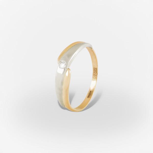 Золотое кольцо Фианит арт. 1202270 1202270