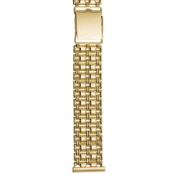 Мужской браслет для часов из лимонного золота арт. 62011 62011
