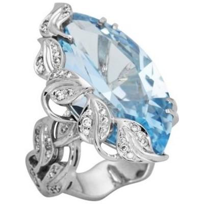 Кольцо из белого золота Бриллиант и Топаз арт. 30259.0103 30259.0103