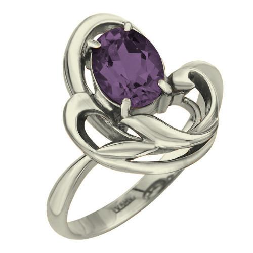 Серебряное кольцо Аметист арт. 0226 0226