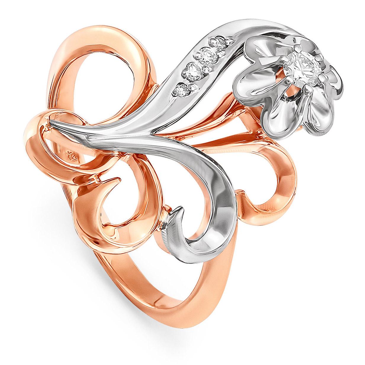 Золотое кольцо Бриллиант арт. 11-0067 11-0067