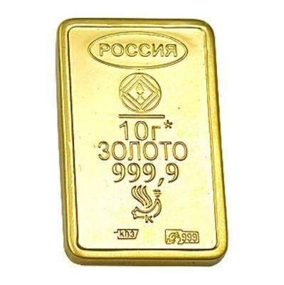 Золотой слиток арт. 9400050006 9400050006