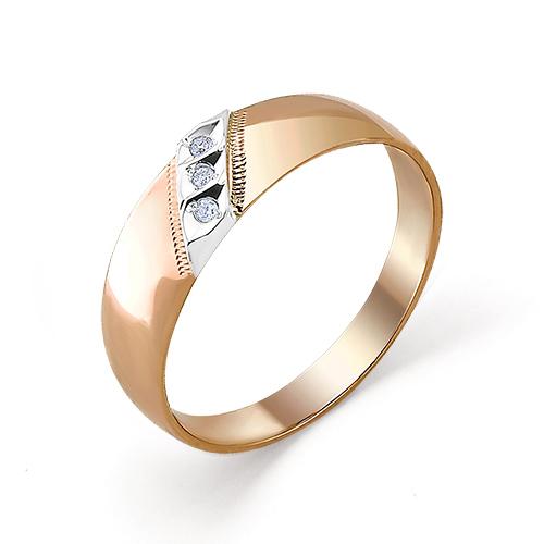 Обручальное кольцо из золота с изумрудом арт. 1-104-30 1-104-30