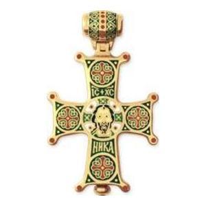 Крест с эмалью арт. мс 036а мс 036а