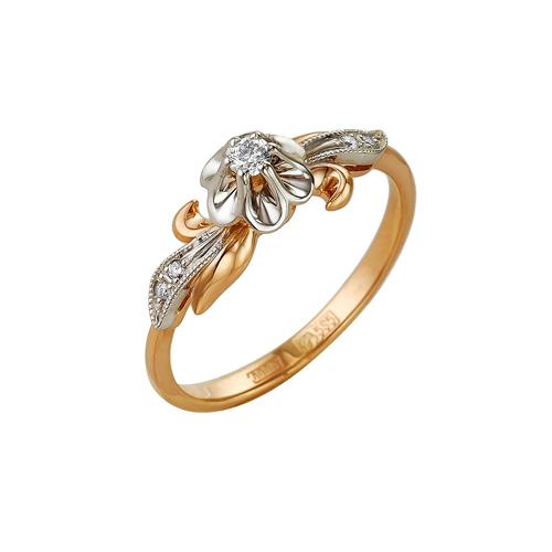 Золотое кольцо Бриллиант арт. 1-104-795 1-104-795