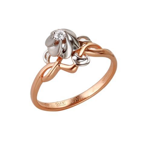 Золотое кольцо Бриллиант арт. 1-104-827 1-104-827