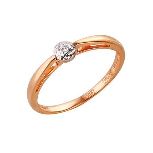 Золотое кольцо Бриллиант арт. 1-104-723 1-104-723