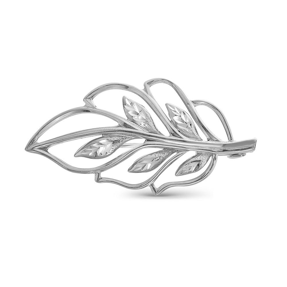 Серебряная брошь арт. 130148-5 130148-5