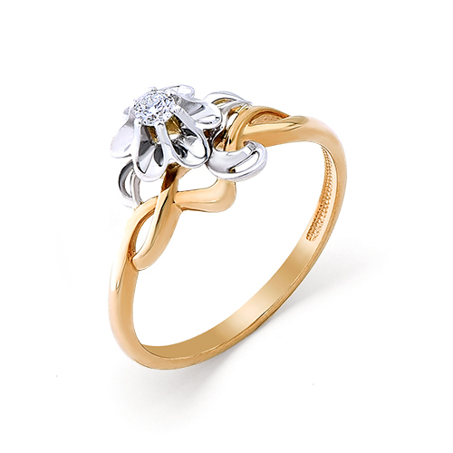 Золотое кольцо Бриллиант арт. 1-104-869 1-104-869
