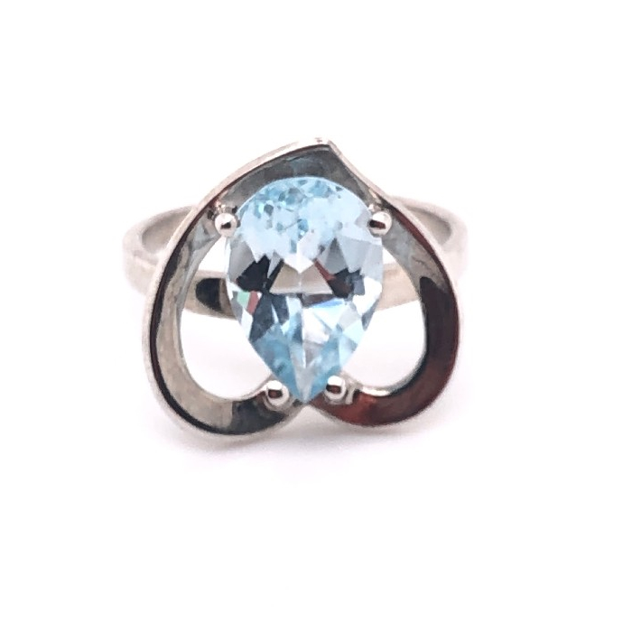 Серебряное кольцо Топаз арт. 910349 910349