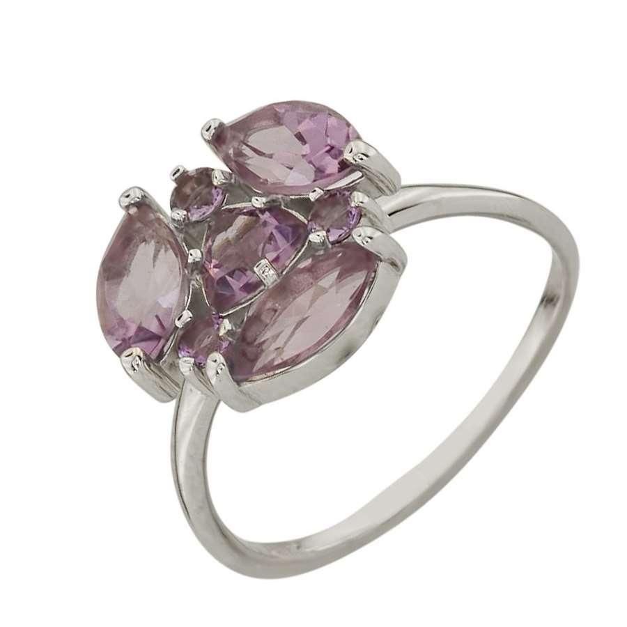 Серебряное кольцо Аметист арт. 910700/1 910700/1