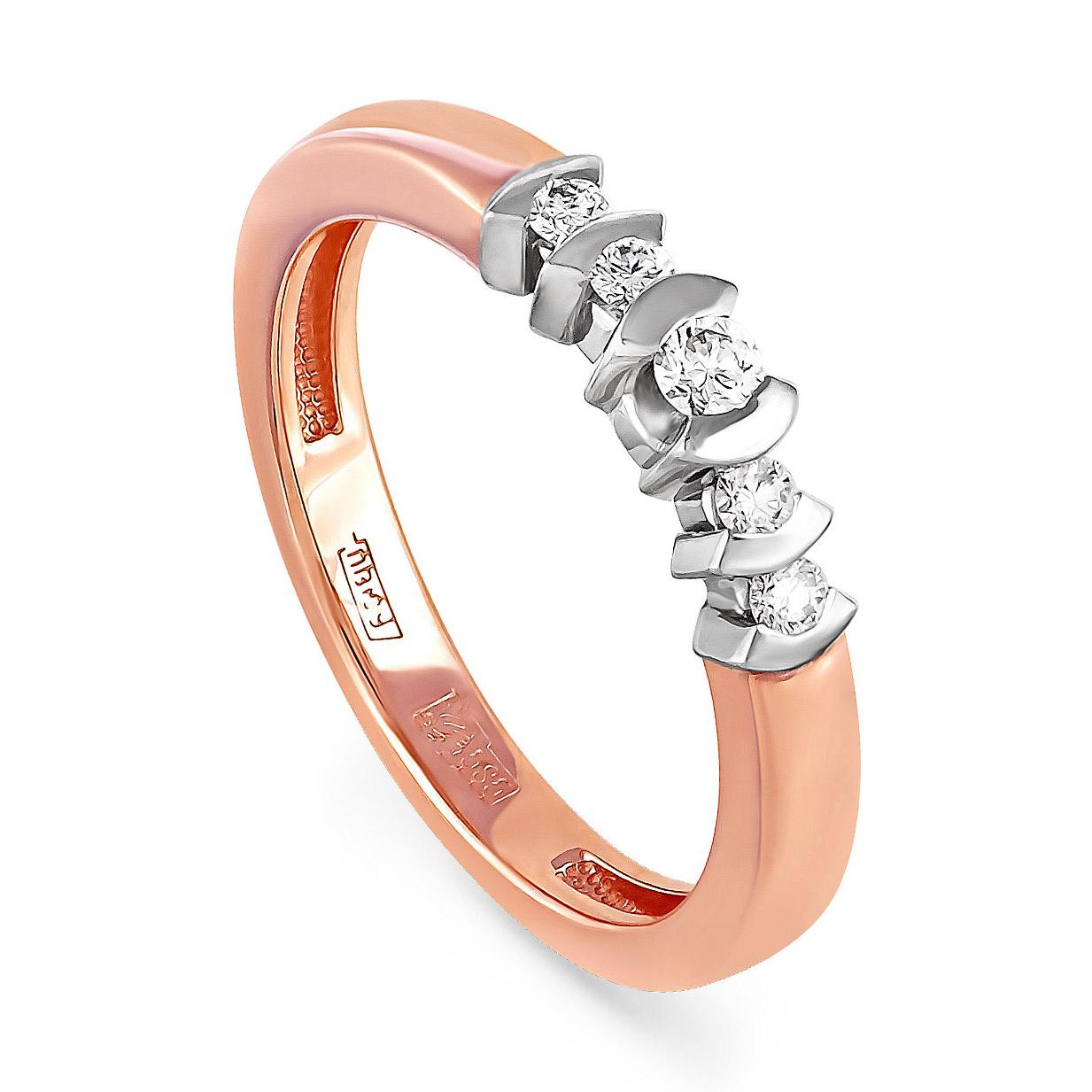 Золотое кольцо Бриллиант арт. 11-0106 11-0106