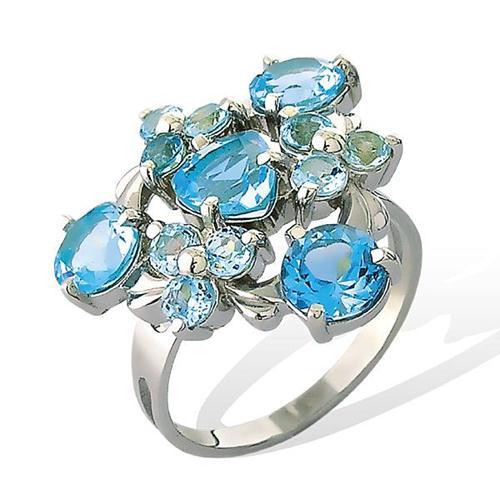 Серебряное кольцо Топаз арт. 1659р 1659р
