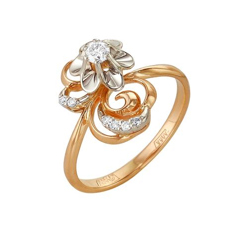 Золотое кольцо Бриллиант арт. 1-105-36 1-105-36