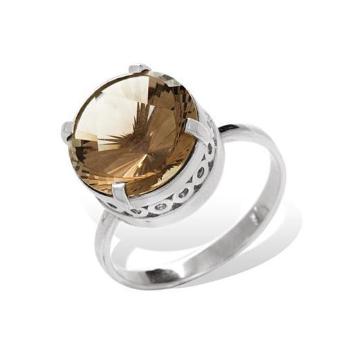 Серебряное кольцо Топаз арт. 1328р 1328р