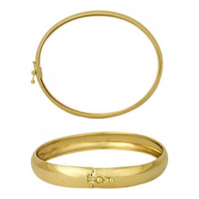 Жесткий браслет из лимонного золота арт. 1403040133-19 1403040133-19