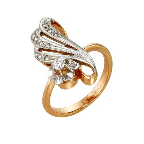 Золотое кольцо Бриллиант арт. 1-104-614/1 1-104-614/1