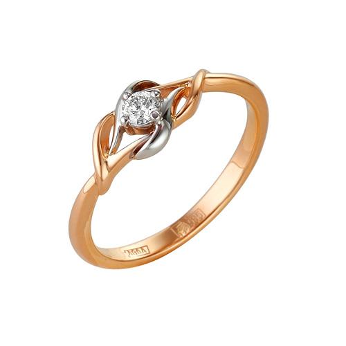 Золотое кольцо Бриллиант арт. 1-104-968 1-104-968