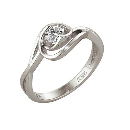 Кольцо из белого золота Бриллиант арт. 1-104-997 1-104-997