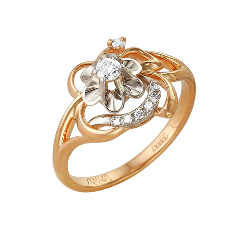 Золотое кольцо Бриллиант арт. 1-105-80 1-105-80