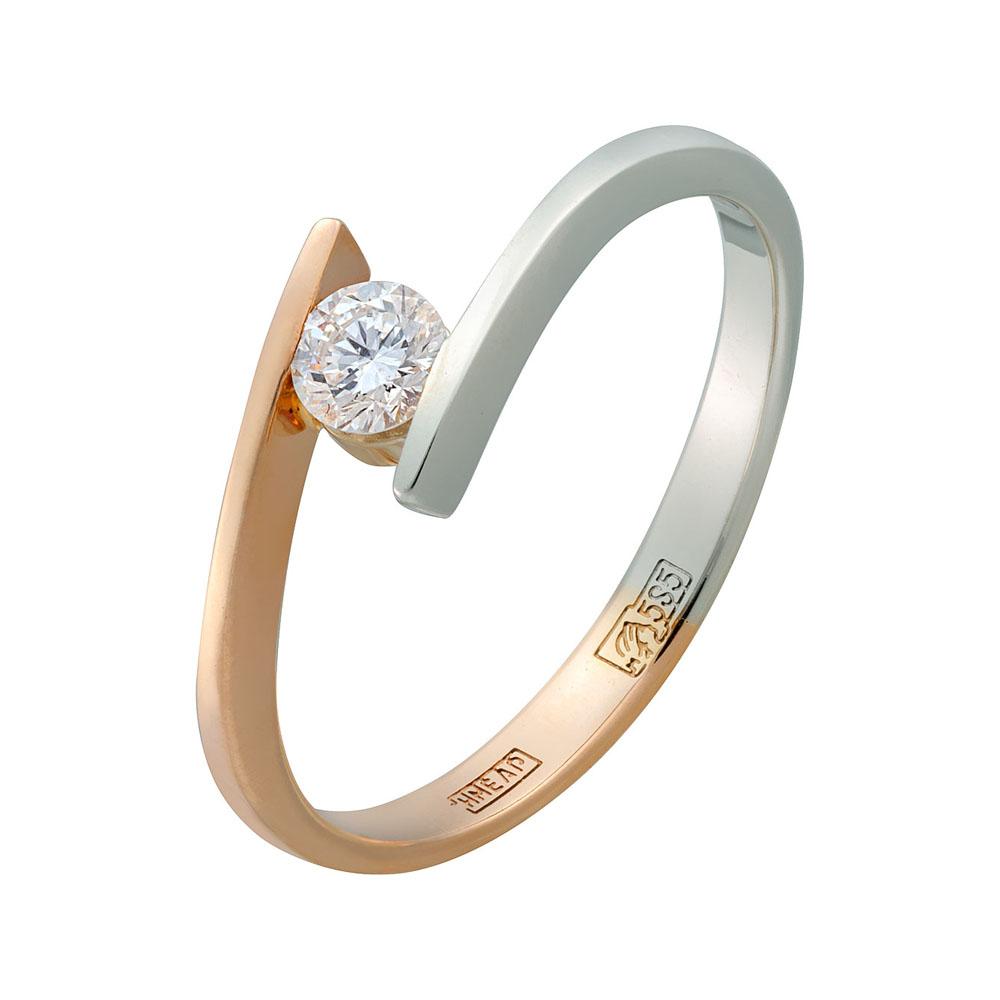 Золотое кольцо Бриллиант арт. 0128/2 0128/2