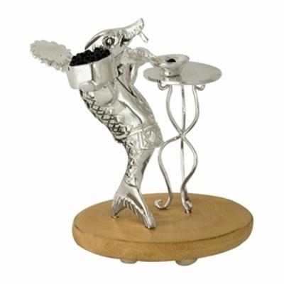 Серебряный сувенир с нефритом арт. 3960050062 3960050062