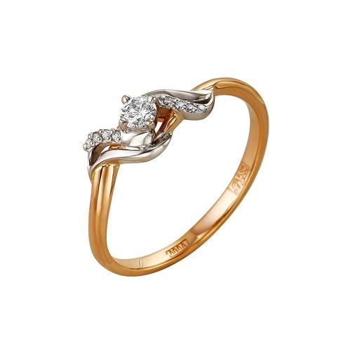 Золотое кольцо Бриллиант арт. 1-105-110 1-105-110