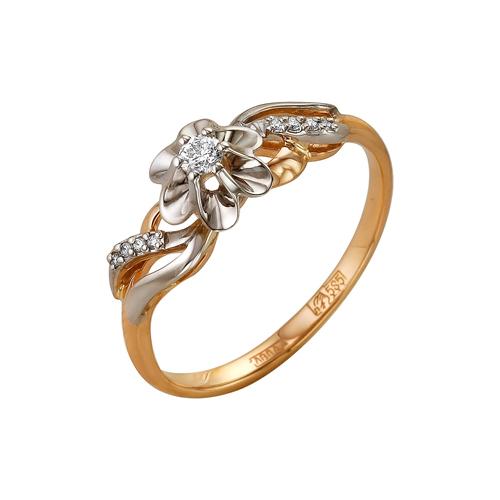 Кольцо из белого золота Бриллиант арт. 1-105-115 1-105-115