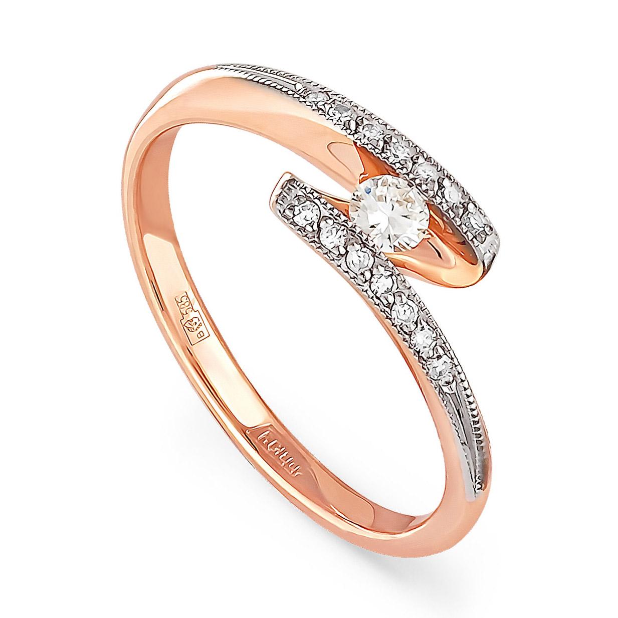 Золотое кольцо Бриллиант арт. 11-0240 11-0240