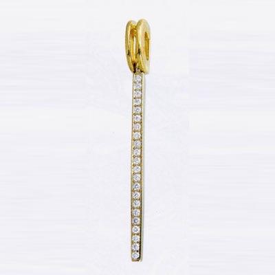 Золотой подвес с бриллиантом арт. 1105794001 1105794001