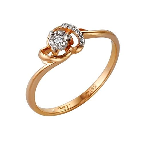Золотое кольцо Бриллиант арт. 1-105-144 1-105-144