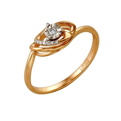Золотое кольцо Бриллиант арт. 1-105-139 1-105-139