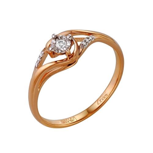 Золотое кольцо Бриллиант арт. 1-105-157 1-105-157