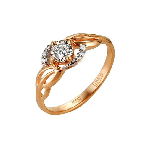 Золотое кольцо Бриллиант арт. 1-104-931 1-104-931