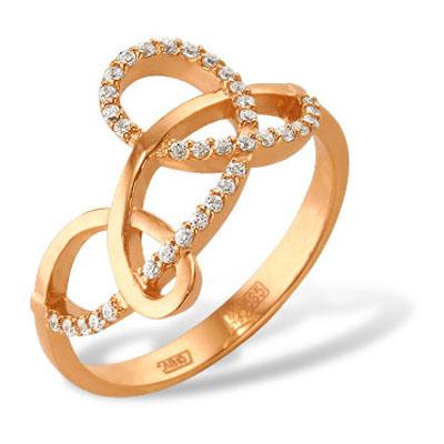 Золотое кольцо Фианит арт. 12000278 12000278