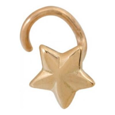 Пирсинг в нос из золота арт. 1400025018 1400025018