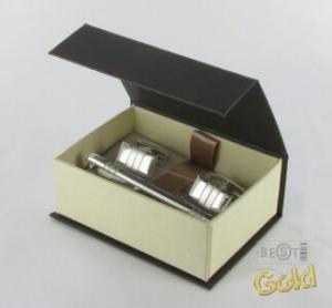Серебряные запонки арт. 140002 140002
