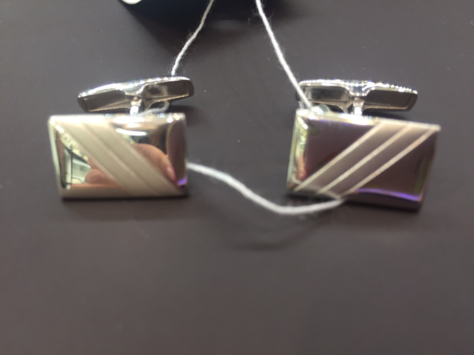 Серебряные запонки арт. 140004 140004