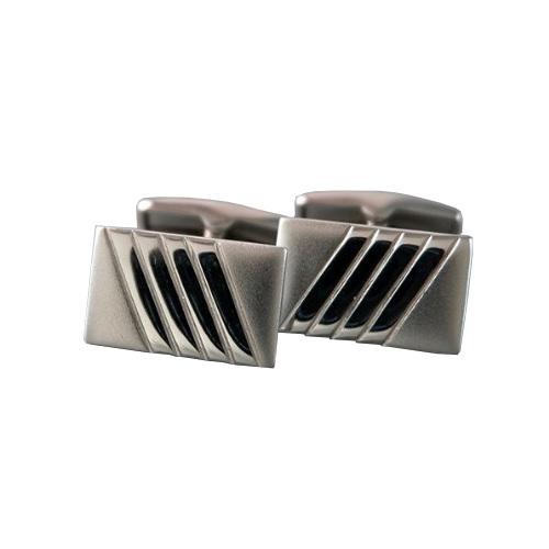 Серебряные запонки арт. 140005 140005